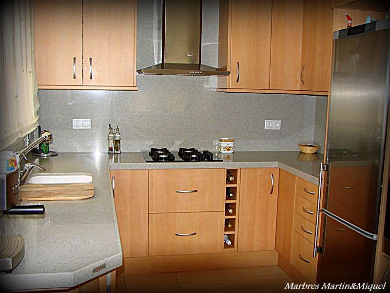Cocinas mármol, Marbres Martín & Miquel