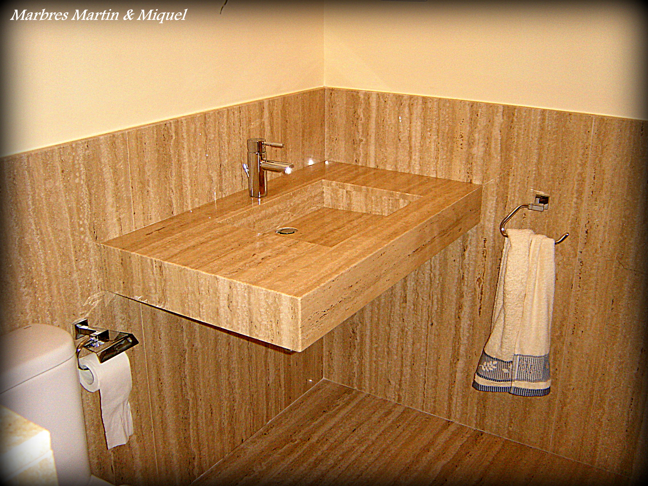 Marbres mart n miquel lavabos de m rmol for Lavabos de marmol y granito
