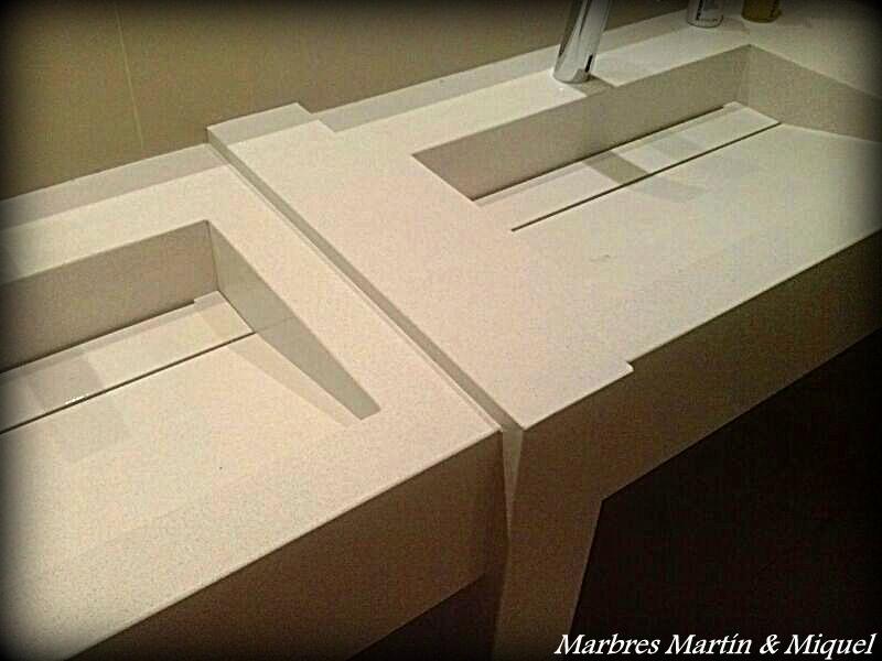 Marbres mart n miquel lavabos de m rmol for Pica lavabo