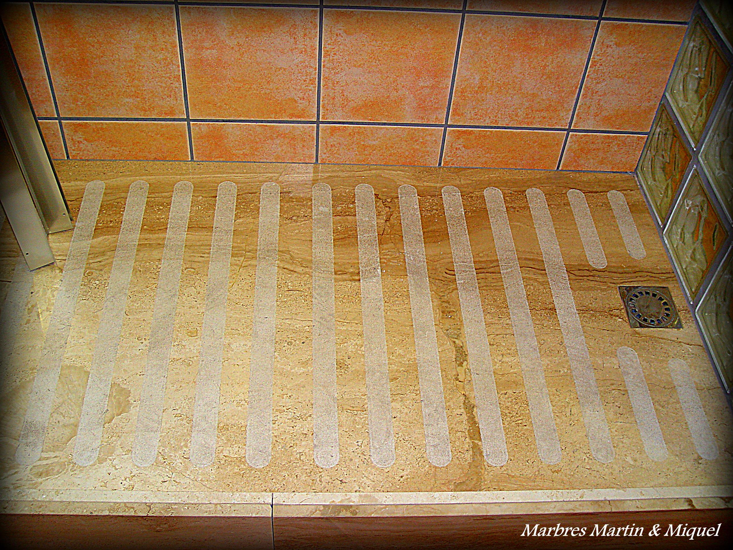 Marbres mart n miquel platos de ducha de m rmol - Plato ducha piedra natural ...